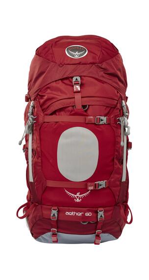 Osprey Aether 60 Trekkingrygsæk Herrer Størrelse M rød
